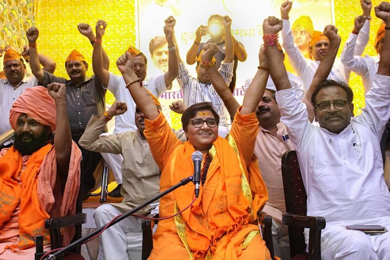 BJP's Pragya Thakur Calls Nathuram Godse a Patriot, Says 'Party's Line is My Line' After Backlash