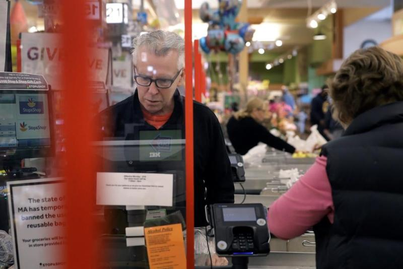 What's in store: Groceries installing barriers amid outbreak