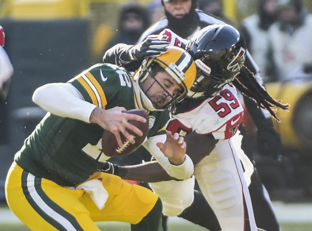 Aaron Rodgers has yet to lead the Packers to a road win this season