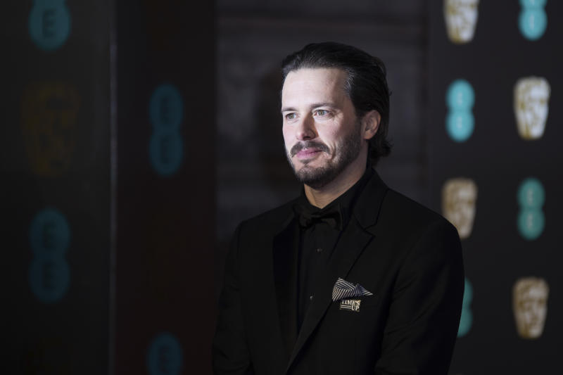 Director Edgar Wright poses for photographers upon arrival at the BAFTA Film Awards, in London, Sunday, Feb. 18, 2018. (Photo by Vianney Le Caer/Invision/AP)