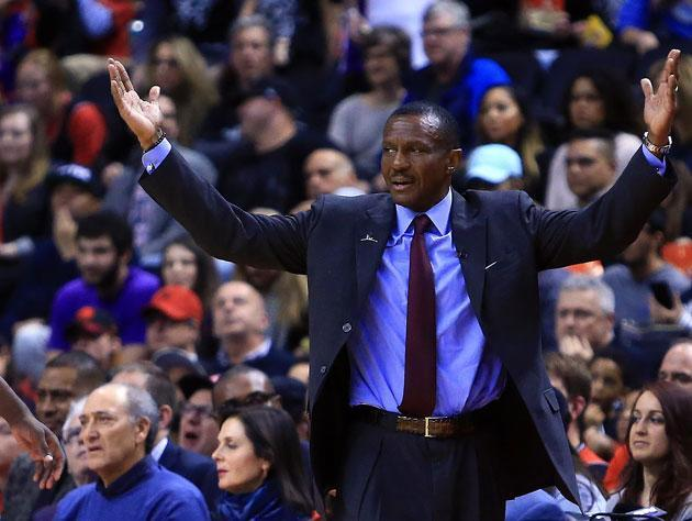 Dwane Casey signed a contract extension in 2016. (Getty Images)
