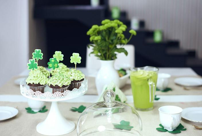 """<p>There's no doubt about it—<a href=""""https://www.thepioneerwoman.com/holidays-celebrations/a35203099/when-is-st-patricks-day/"""" rel=""""nofollow noopener"""" target=""""_blank"""" data-ylk=""""slk:St. Patrick's Day"""" class=""""link rapid-noclick-resp"""">St. Patrick's Day</a> is one of the most <em>fun</em>derful times of the year. There are so many festive traditions to enjoy around the holiday, including of course, cute DIY St. Patrick's Day decorations. Bright, colorful, and super cheerful, these crafts celebrating March 17 are a delight to make yourself, especially if you're serving some delicious dishes alongside them! If you're marking the occasion with a few of your favorite <a href=""""https://www.thepioneerwoman.com/food-cooking/meals-menus/g35325053/traditional-irish-food-dishes/"""" rel=""""nofollow noopener"""" target=""""_blank"""" data-ylk=""""slk:traditional Irish recipes"""" class=""""link rapid-noclick-resp"""">traditional Irish recipes</a>, the right décor will add lots of smiles to the festivities.</p><p>Looking for paper rainbow garland you can whip up in no time? You'll find it here, along with other easy <a href=""""https://www.thepioneerwoman.com/home-lifestyle/crafts-diy/g35012898/st-patricks-day-crafts/"""" rel=""""nofollow noopener"""" target=""""_blank"""" data-ylk=""""slk:St. Patrick's Day craft projects"""" class=""""link rapid-noclick-resp"""">St. Patrick's Day craft projects</a> like a sweet little sock gnome and even a jolly paper shamrock man that doubles as a craft for your kids. And if you want to really get your DIY on, check out the other goodies, including a shabby-chic clover you can construct out of wooden shims. Just be sure to wear green while you work on these easy St. Patrick's Day décor ideas so you don't get pinched! And having an <a href=""""https://www.thepioneerwoman.com/food-cooking/recipes/a11458/irish-coffee/"""" rel=""""nofollow noopener"""" target=""""_blank"""" data-ylk=""""slk:Irish coffee"""" class=""""link rapid-noclick-resp"""">Irish coffee</a> on hand wouldn't hurt either...</p>"""