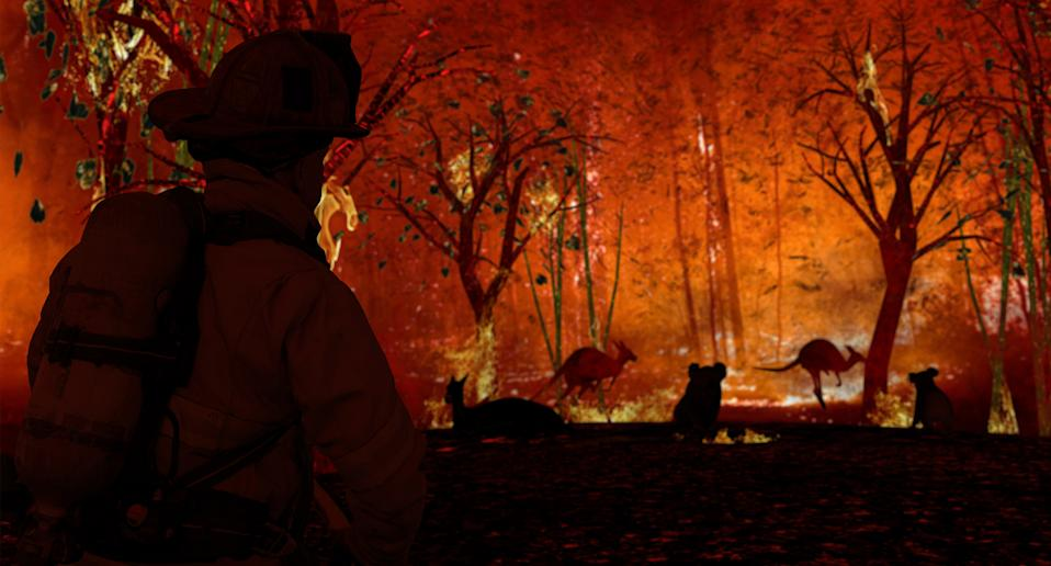 Black Summer Bushfires: 33 people died, 24 million hectares of land burnt,more than 3000 homes destroyedand and billions of animals killed.