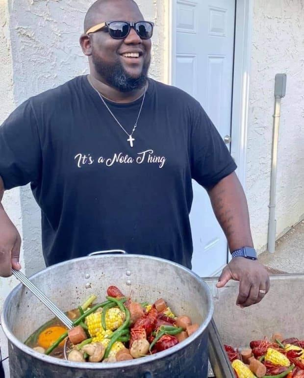Warren Montgomery was the owner and chef of The Big Easy Kitchen in Regina. He brought flavours from New Orleans to the Queen City.