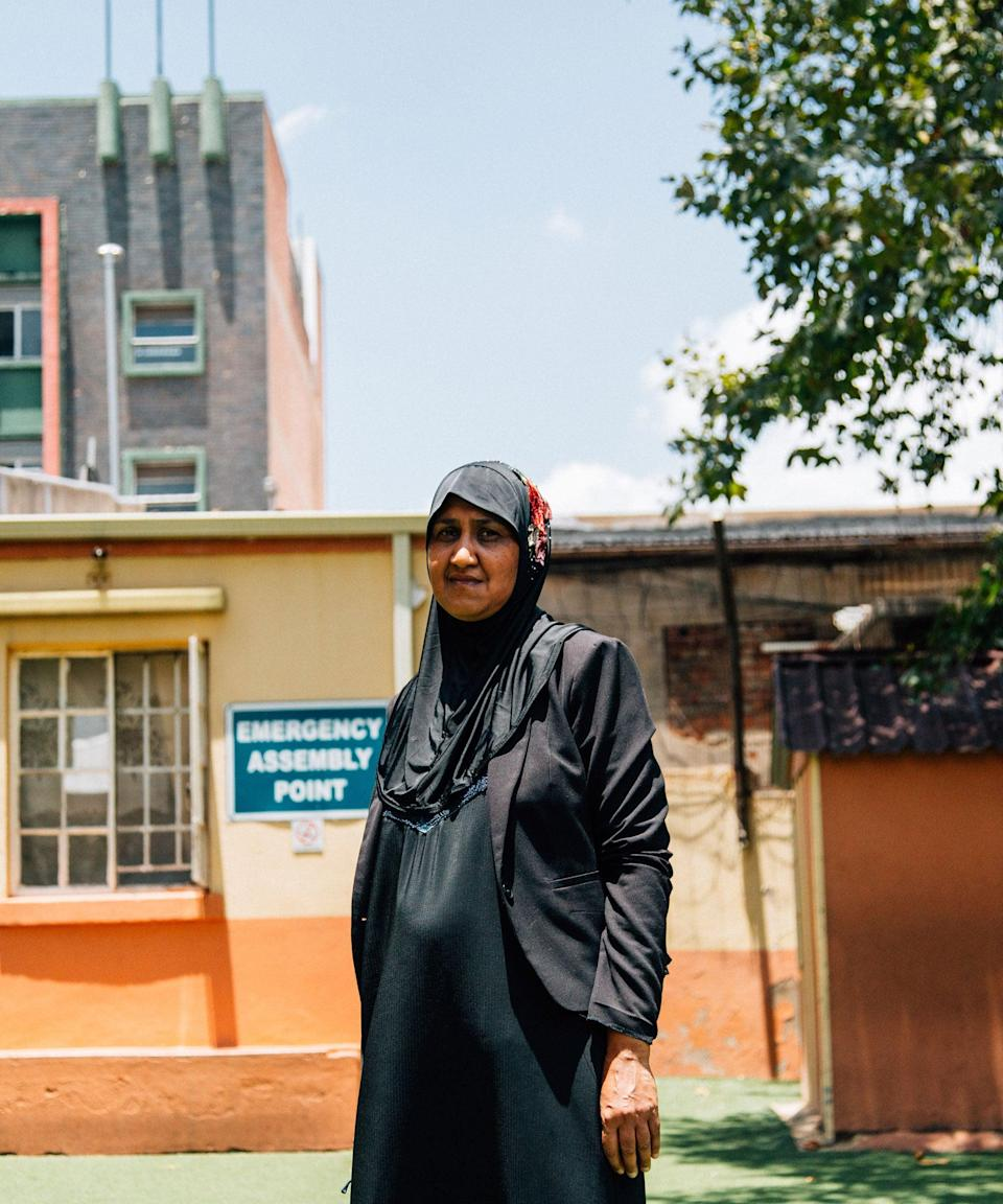 "<strong>""It opens their mind up to the possibilities""</strong><br><strong><em>Zakia, 53, South Africa</em></strong><br><br>Zakia is a teacher at Ferreira School, a predominantly Muslim school in dense inner-city Johannesburg, and for the last decade she has been emboldening girls to take up sport – despite cultural barriers around them doing so. Girls often aren't encouraged to be active at all.<br><br>""In our community, we tell our girls at a certain age, 'Now you have to be at home and this is your path forward',"" she says. ""But if they see us also, as coaches, being on the sports field, it opens their mind up to the possibilities."" Thanks to Zakia and her visibility as a female role model, girls who were previously reluctant to get sweaty are now playing sports as extracurricular activities.<br><br>With over 20 years' experience as an educator, Zakia has watched how playing sports helps children both inside and outside the classroom, boosting their concentration, behaviour and confidence. She wants kids to know that the benefits of sport are an asset in the workplace down the line.<br><br>""It gives you that work ethic that you won't get anywhere else. Because you can go do an office job but it will not give you that inspiration, discipline, motivation [and] everything that sport gives you."""