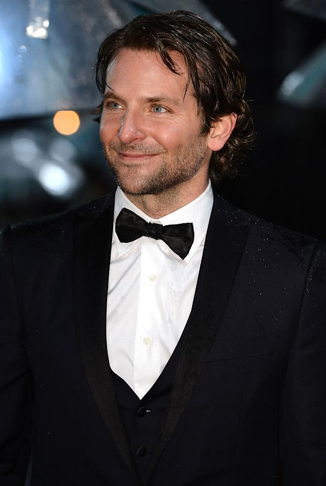 Bradley Cooper attends the EE British Academy Film Awards at The Royal Opera House on February 10, 2013 in London, England.  (Photo by Ian Gavan/Getty Images)