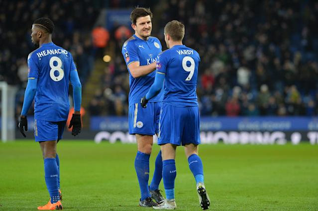 Leicester City looking to the future in defence