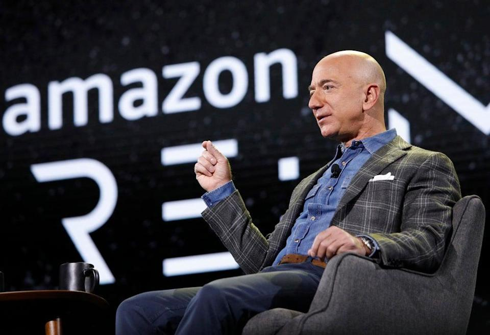 It is highly unusual for an early-stage start-up to count both Jeff Bezos and Marc Benioff as backers   (AP)