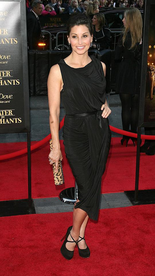 "<a href=""http://movies.yahoo.com/movie/contributor/1800011452"">Gina Gershon</a> attends the New York premiere of <a href=""http://movies.yahoo.com/movie/1810161083/info"">Water for Elephants</a> on April 17, 2011."