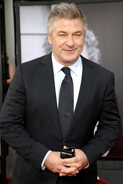 """FILE - This April 10, 2014 file photo shows actor Alec Baldwin at the 2014 TCM Classic Film Festival's Opening Night Gala in Los Angeles. Police in New York City say actor Alec Baldwin has been arrested for riding a bike the wrong way on the street and acting belligerently toward the arresting officers. Police say the """"30 Rock"""" star was taken into custody Tuesday, May 13, 2014. They say two officers noticed him riding his bicycle the wrong way on 16th Street near Fifth Avenue near Union Square Park. They say the notoriously hot-headed actor was asked to show identification. That's when they say he acted belligerently toward the officers and was arrested. He's since been released. (Photo by Annie I. Bang /Invision/AP, File)"""