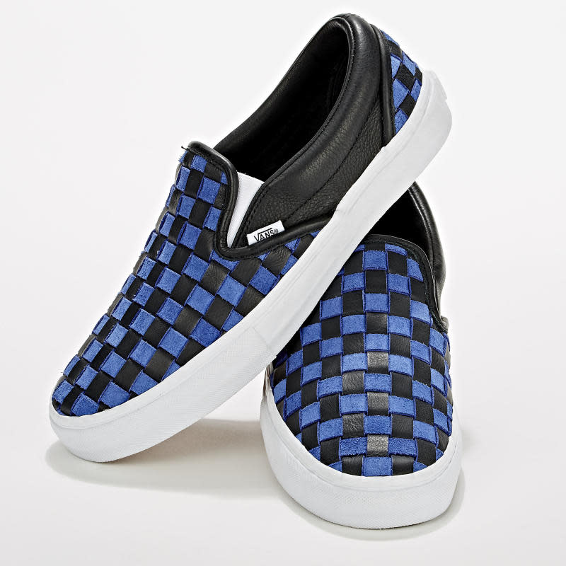 f2ba0259fa9a5a Barneys  Latest Sneaker Collab Gives the Vans Slip-On the Luxe ...