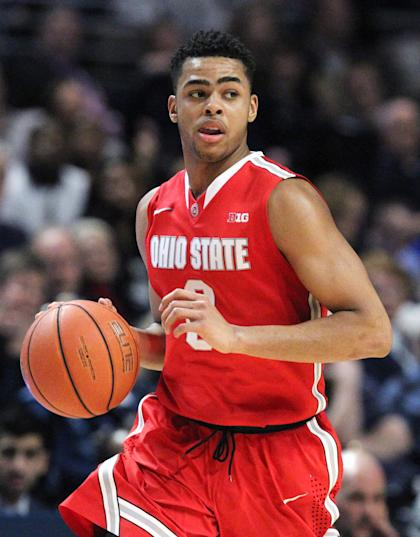 Ohio State guard D'Angelo Russell has drawn compliments for his passing. (USA Today)
