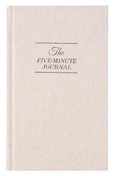 Intelligent Change Five Minute Journal (photo via Indigo)