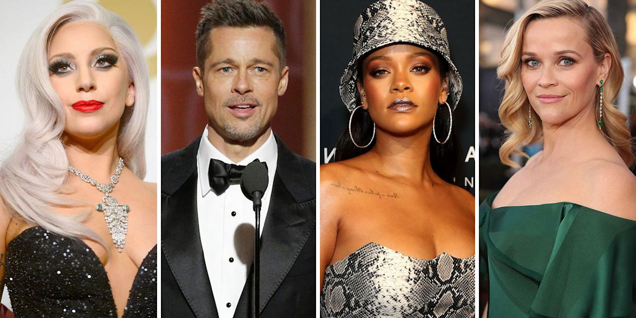 <p>Reese Witherspoon, John Legend, Bruno Mars, Rihanna—it's as if these celebrities were destined to make it big in Hollywood from the moment their parents signed their birth certificate. But as it turns out, some of the most acclaimed household names weren't born with the golden ticket to stardom. Instead, they paved their own ways, often adopting a stage name to help open doors. Ahead, 42 of the most well-known celebs who actually go by pseudonyms, plus the stories behind when and why they chose to forgo their birth names.</p>