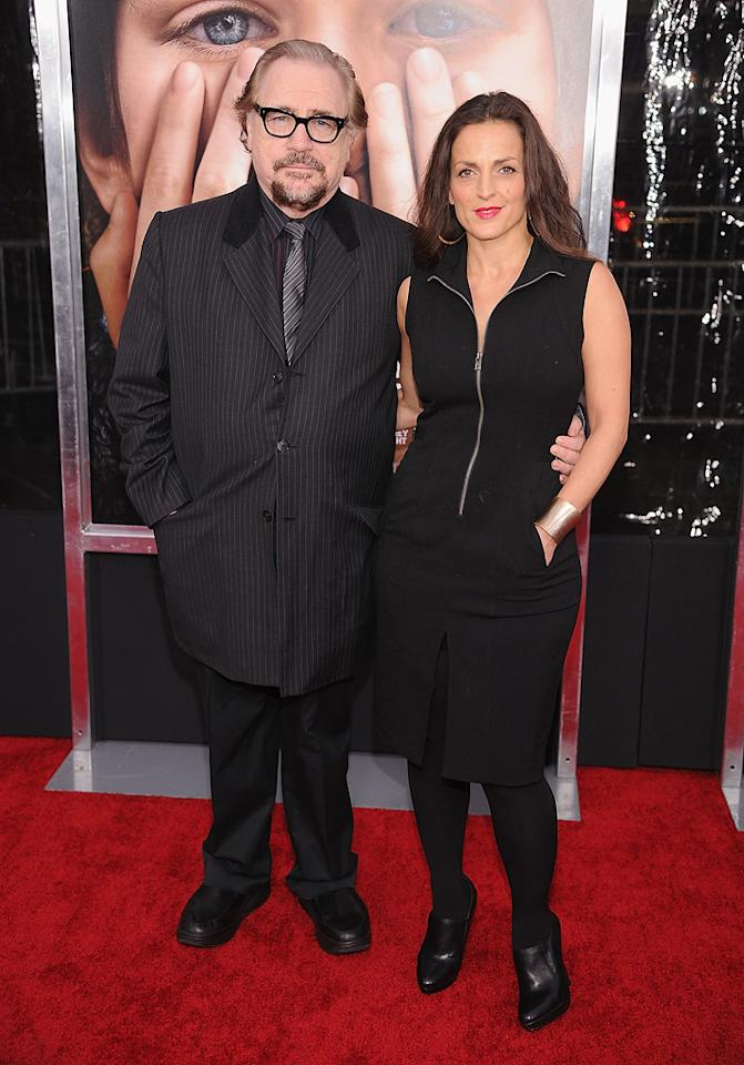 """<a href=""""http://movies.yahoo.com/movie/contributor/1800019602"""">Brian Cox</a> and guest at the New York City premiere of <a href=""""http://movies.yahoo.com/movie/1810196550/info"""">Extremely Loud and Incredibly Close</a> on December 15, 2011."""
