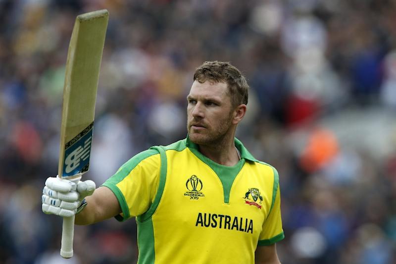 Australia captain Aaron Finch has played a key role in his side's strong start (AFP Photo/Ian KINGTON)