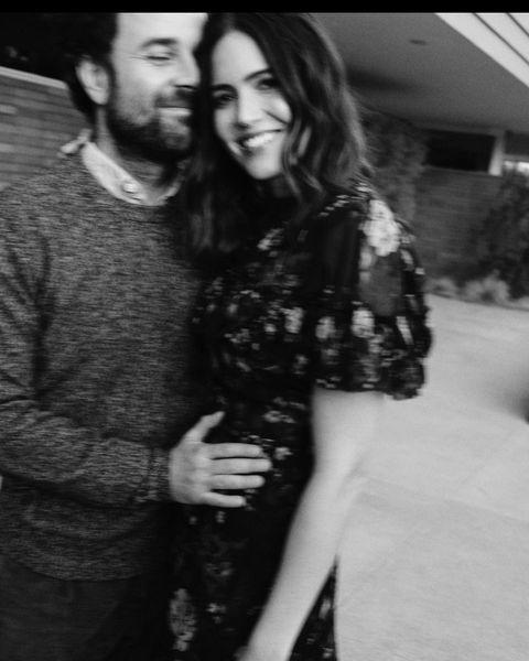 """<p>The singer revealed that she was expecting her first child with her husband via Instagram.</p><p>'Baby Boy Goldsmith coming early 2021,' she captioned three black-and-white photographs of her and Goldsmith caressing her baby bump. </p><p><a href=""""https://www.instagram.com/p/CFh5kwLg8ja/"""" rel=""""nofollow noopener"""" target=""""_blank"""" data-ylk=""""slk:See the original post on Instagram"""" class=""""link rapid-noclick-resp"""">See the original post on Instagram</a></p>"""