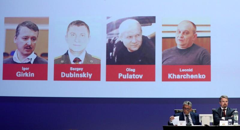 FILE PHOTO: Investigators present latest findings in MH17 downing, in Nieuwegein