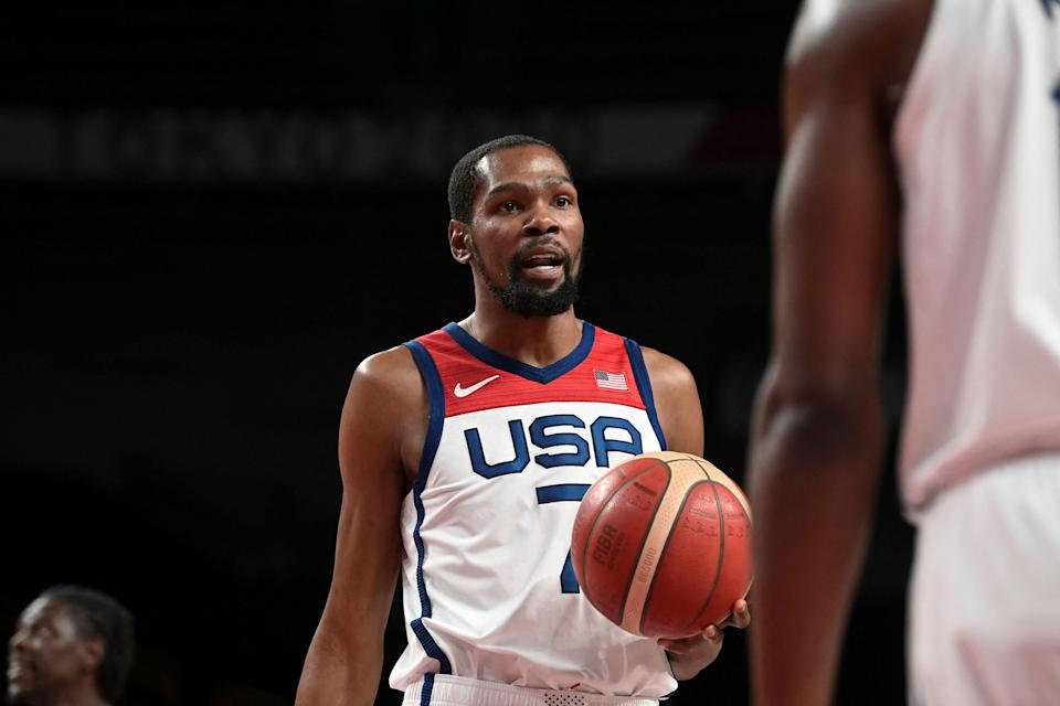Kevin Durant in action for USA (Getty)