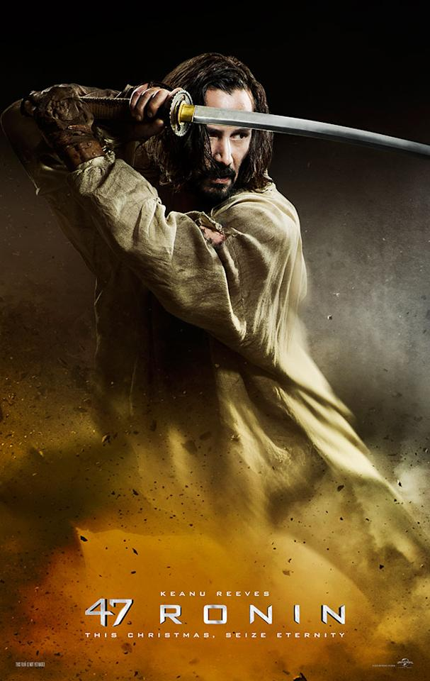 """Keanu Reeves stars in Universal Pictures' """"47 Ronin"""" - 2013"""