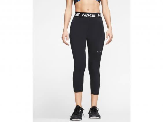 A pair of gym leggings will see you through whatever workout you choose when keeping active (Nike)