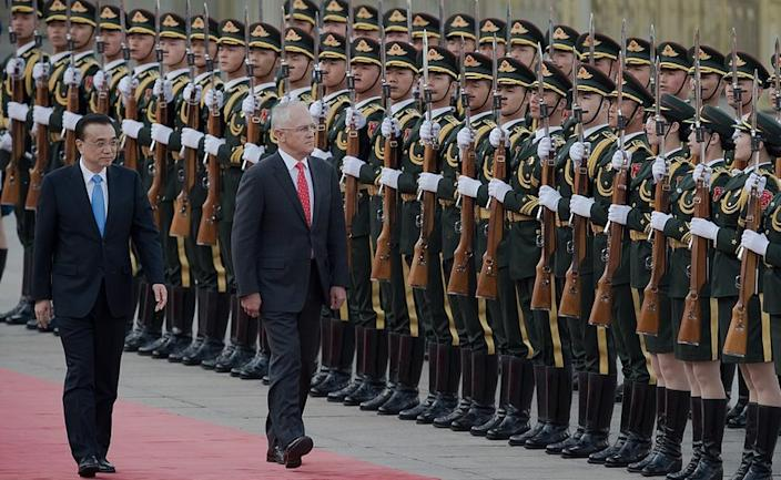 Malcolm Turnbull was the last Australian PM to visit Beijing in 2016