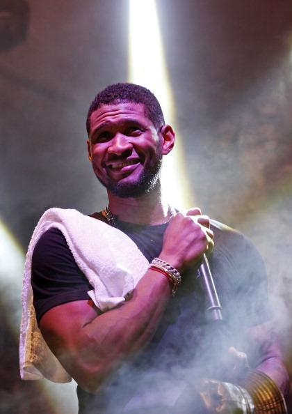 Usher performs with The Afghan Whigs at The Fader Fort presented by Converse during SXSW on March 15, 2013 in Austin, Texas.  (Photo by Roger Kisby/Getty Images)