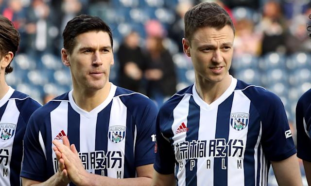 Gareth Barry (left) and Jonny Evans were among the four West Brom players who left a taxi driver stranded at 5.30am.