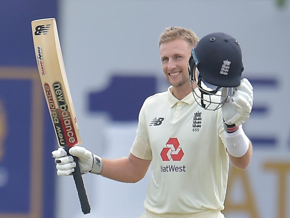 England captain Joe Root celebrated his 18th Test century (ECB)