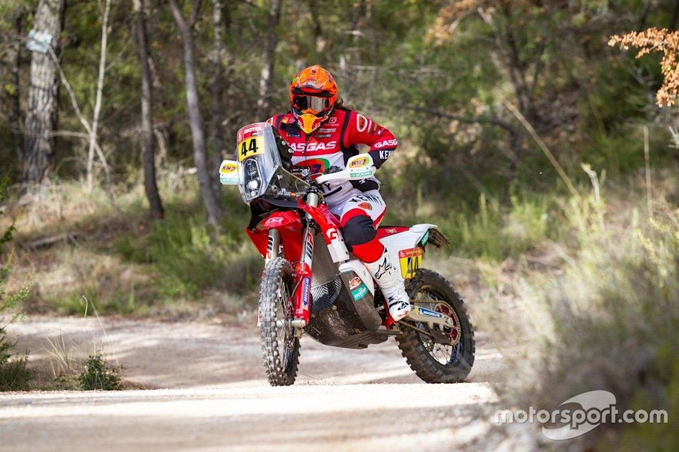 "Laia Sanz, GASGAS Rally team <span class=""copyright"">GasGas Factory Racing</span>"