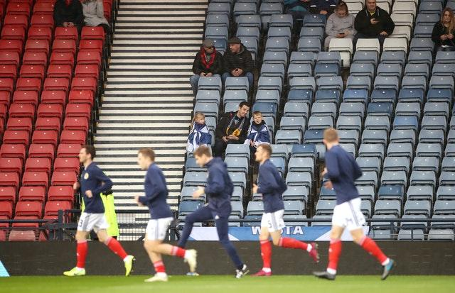 Socially-distanced crowds might watch Scotland in September