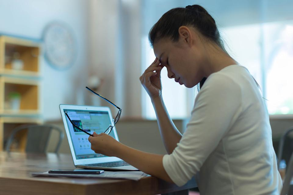 The data showed that female workersappear to besuffering morethan their male counterparts, 46.9%and 39.9%respectively.Photo: Getty