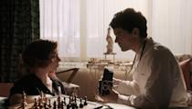 """<p>Beth develops an almost immediate crush on Townes when they play at her first-ever chess competition, culminating years later in an awkward one-on-one hangout full of mixed signals and confusion. But all is not lost: Townes swoops back in later to play a big part in getting Beth ready for her Russian matches. <a href=""""https://www.marieclaire.com/culture/a34510174/who-is-townes-the-queens-gambit-jacob-fortune-lloyd/"""" rel=""""nofollow noopener"""" target=""""_blank"""" data-ylk=""""slk:Fortune-Lloyd"""" class=""""link rapid-noclick-resp"""">Fortune-Lloyd</a> has spent much of his career on the stage, but can also be seen in <em>Medici</em>, <em>Wolf Hall</em>, and <em>Star Wars: The Rise of Skywalker</em>. </p>"""