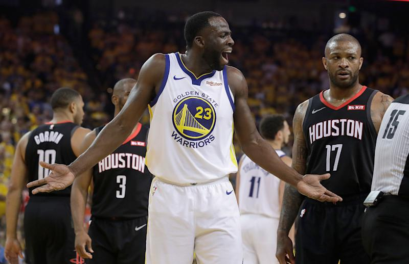 Warriors hold off Rockets despite Durant's injury