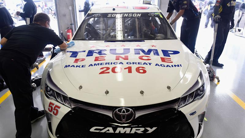 Donald Trump Nascar Paint Scheme Receives Warm Welcome At
