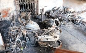 Bhopal: Vehicles gutted in building's parking lot fire