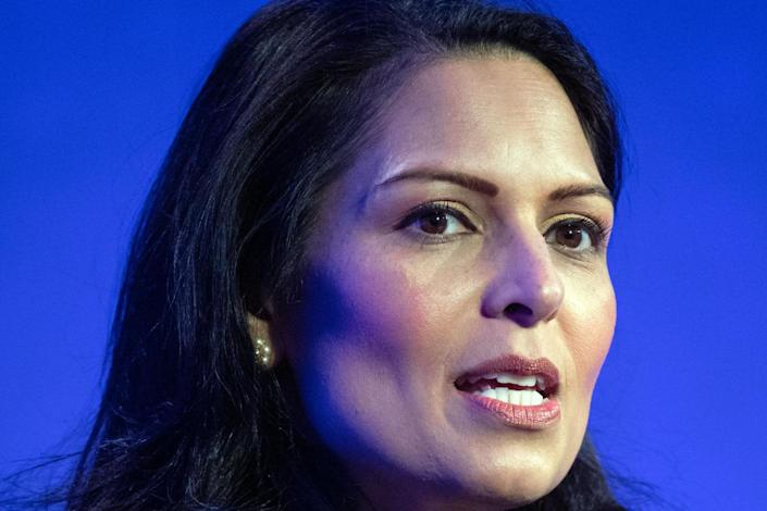 Priti Patel will unveil details of the new points-based immigration system on Monday: PA