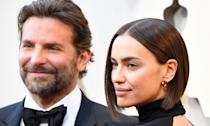 "Bradley Cooper and Irina Shayk ended their relationship after four years of dating earlier in 2019. Cooper, who shares a daughter with his former partner, had a huge year as <em>A Star Is Born</em> was nominated for multiple Oscars. He also hit headlines when his emotional performance with Lady Gaga at the ceremony <a href=""https://uk.movies.yahoo.com/internet-goes-meltdown-bradley-cooper-lady-gagas-oscars-performance-2-064206517.html"" data-ylk=""slk:caused a stir;outcm:mb_qualified_link;_E:mb_qualified_link;ct:story;"" class=""link rapid-noclick-resp yahoo-link"">caused a stir</a>. (Steve Granitz/WireImage)"