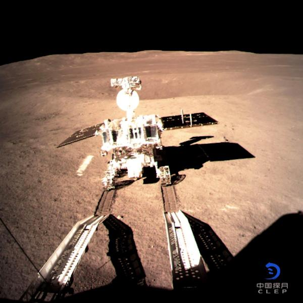 China took a major step in its ambition to achieve space superpower status when it became the first nation to land a probe on the far side of the moon (AFP Photo/China National Space Administration (CNSA) via CNS)