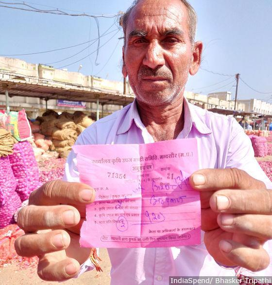 Girdhari Lal (55), a marginal farmer, sold his onions for Rs 1.20 per kg, after spending Rs 6 per kg to grow and harvest them.