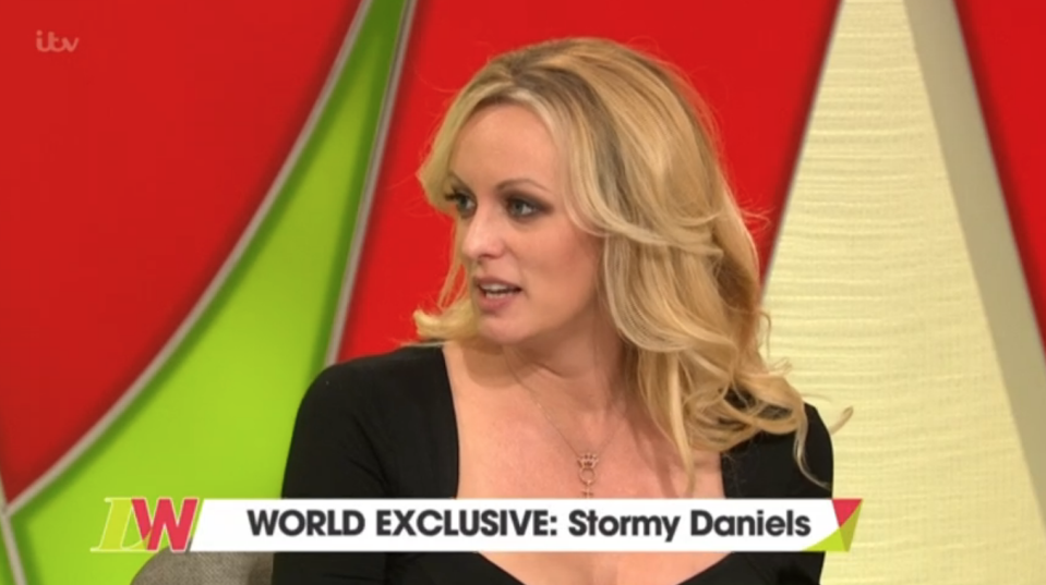 Stormy Daniels speaks to Loose Women
