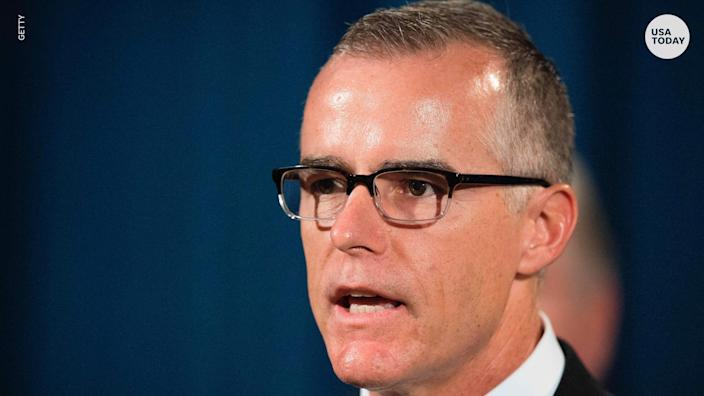 Andrew McCabe hints at 'inappropriate relationship' between Trump and Russia
