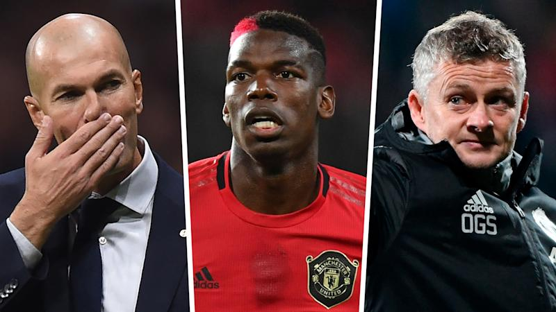 Solskjaer responds as Pogba is pictured with Real Madrid boss Zidane in Dubai