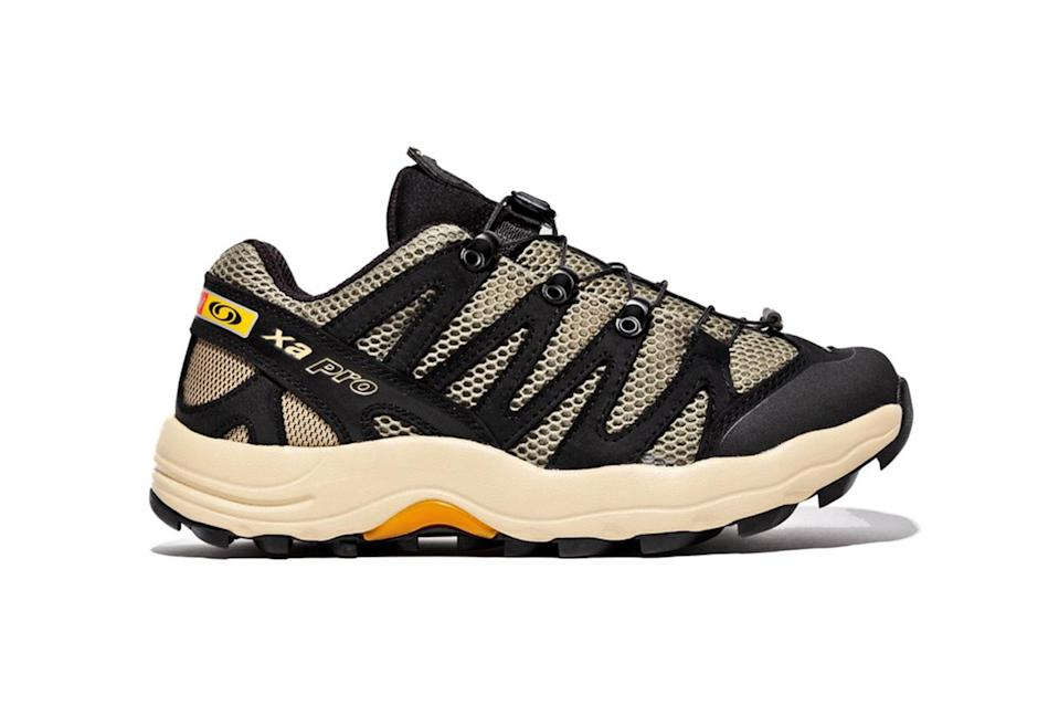 """$190, Packer. <a href=""""https://packershoes.com/collections/new-arrivals/products/salomon-xa-pro-1-advanced"""" rel=""""nofollow noopener"""" target=""""_blank"""" data-ylk=""""slk:Get it now!"""" class=""""link rapid-noclick-resp"""">Get it now!</a>"""