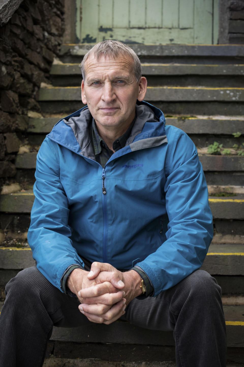 The A Word:  Maurice Scott (CHRISTOPHER ECCLESTON) - (Fifty Fathoms - Photographer: Rachel Joseph)