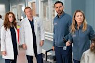 """<p>Coronavirus will hit Grey Memorial Hospital when the long-running medical drama (eventually) returns for season 17. <a href=""""https://ew.com/tv/greys-anatomy-season-17-coronavirus/"""" rel=""""nofollow noopener"""" target=""""_blank"""" data-ylk=""""slk:During a panel in July,"""" class=""""link rapid-noclick-resp"""">During a panel in July,</a> Executive Producer Krista Vernoff confirmed that the show will take a timely approach and """"address this pandemic for sure.""""<br></p>"""