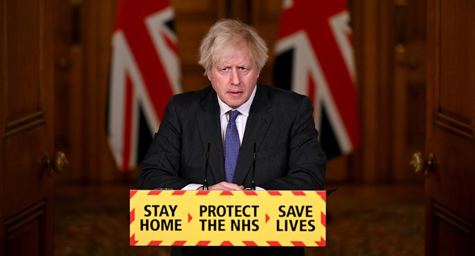 Prime Minister Boris Johnson said he could enforce further restrictions. Source: AAP