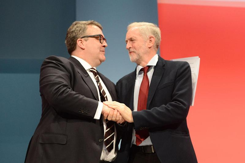 Labour party: Tom Watson has vowed to confront Jeremy Corbyn: Evening Standard / eyevine