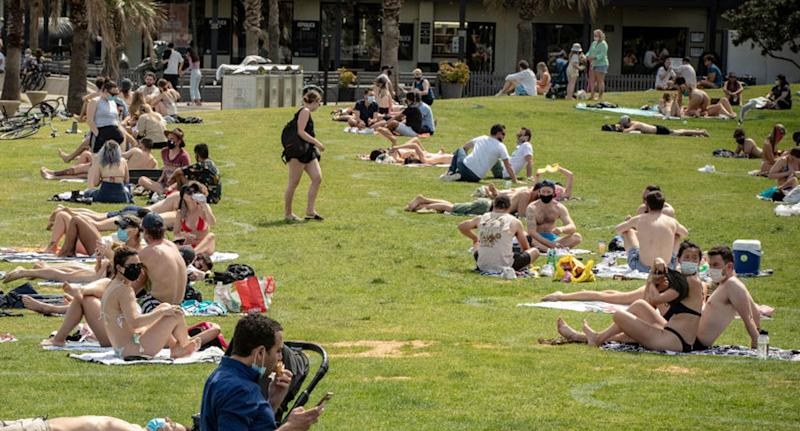 Melburnians are eagerly awaiting Step Three on the roadmap out of restrictions. Source: Getty