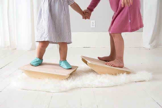 After struggling to find quality, multi-functional toys at an affordable price, this Atlanta-based mother created her own <span>eco-friendly line of children's toys</span> using natural materials and eco friendly practices.